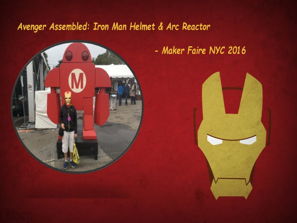 Avenger Assembled: Iron Man Helmet & Arc Reactor