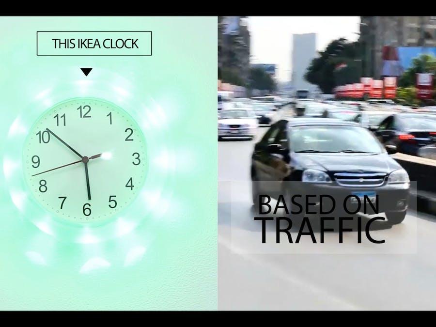 Display Traffic Status Using Arduino & 1Sheeld