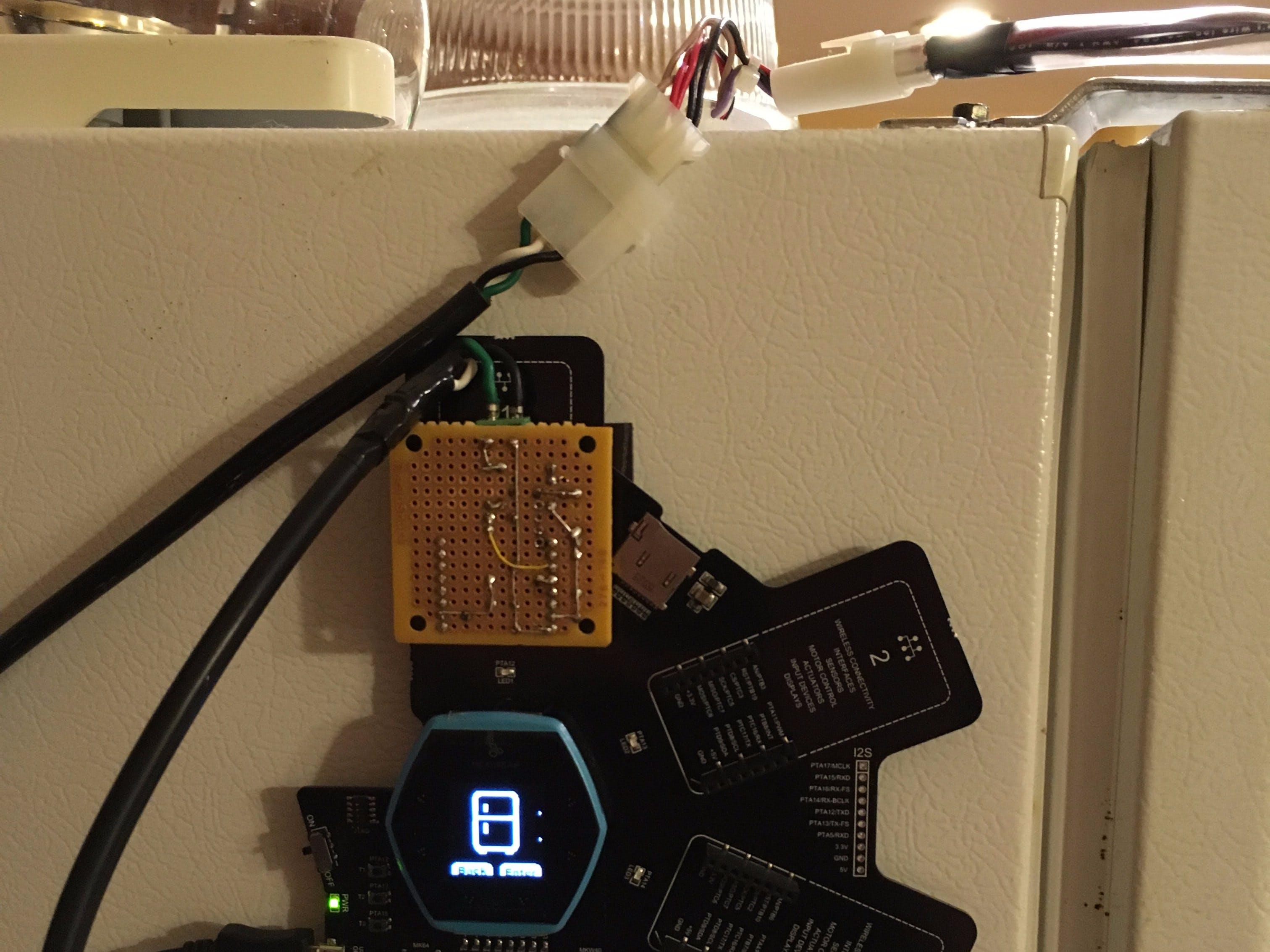 Smart Refrigerator Magnet