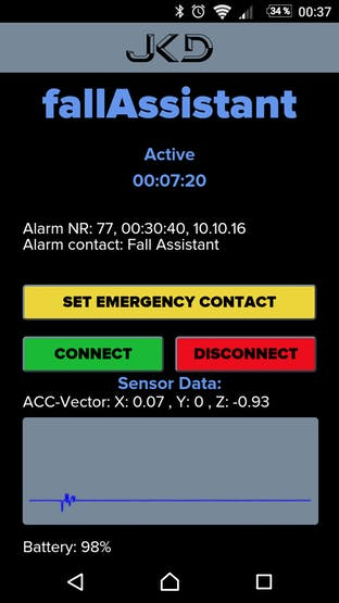 Fall Assistant Android App