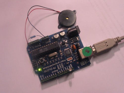 piezo with arduino