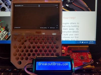 Program an Arduino with the PocketCHIP from Kickstarter