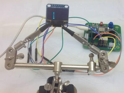 Rotilio & OLED LCD Display Integration Via SPI Protocol