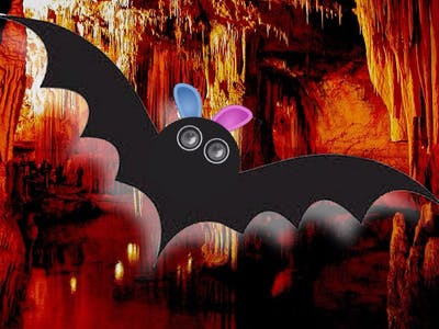Like a Bat with HC SR04