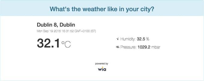 Weather App Frontend