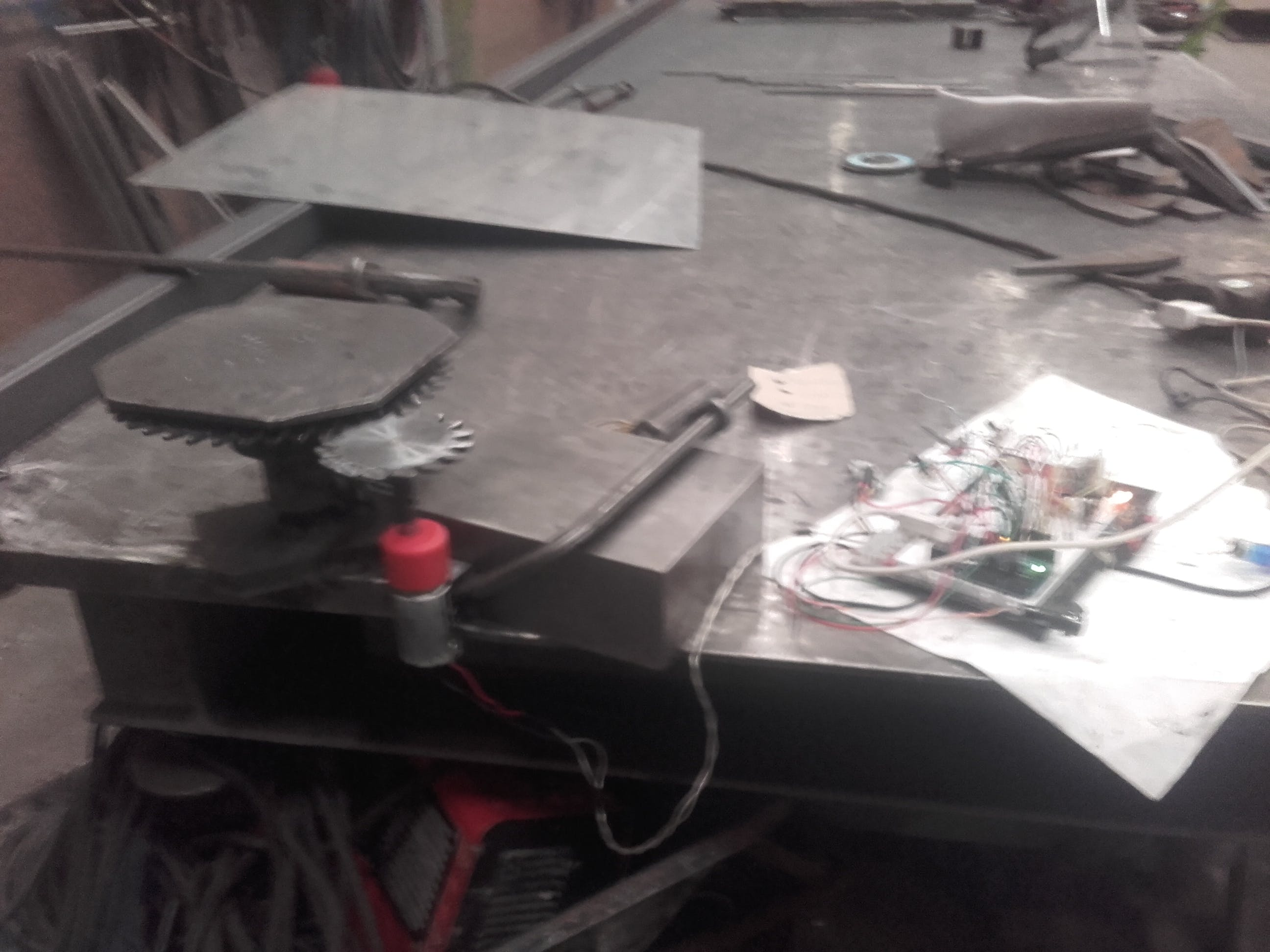 Simple Welding Bot Feedback