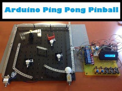 Arduino Ping Pong Pinball