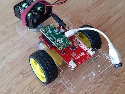 GoPiGo with the Raspberry Pi Zero
