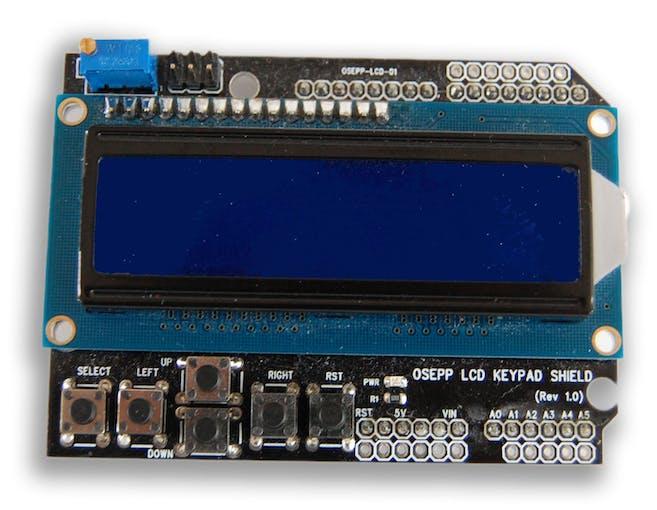 LCD Display (Photo credit: http://osepp.com)