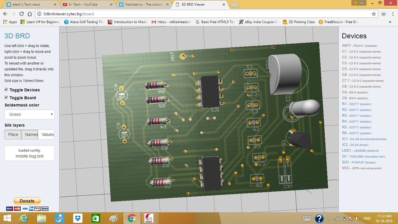 View your PCB file in 3D - Hackster.io