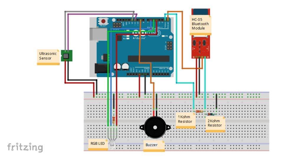 Using The Arduino Uno And Hc 05 Bluetooth Module Hackster Io