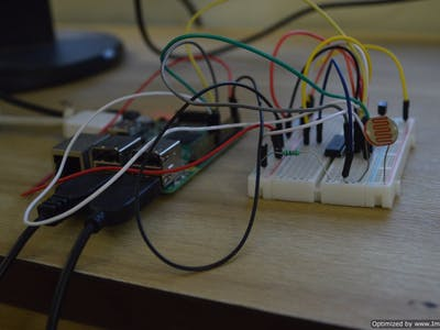 Raspberry Pi as a tweeting weather station!