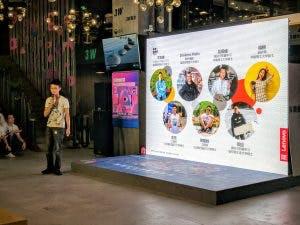 Jiaxin Li presenting our team
