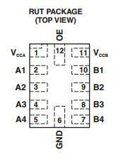 Bi-Directional Level Shifter Pinouts