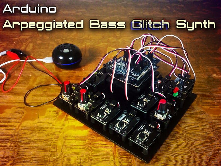 Arduino Arpeggiated Bass Glitch Synth Electronic ...