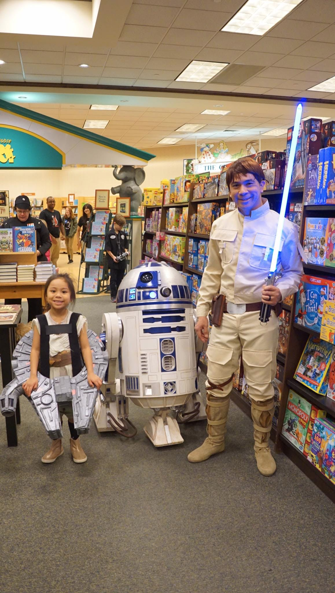 We had a lot of fun! This was my daughter's first ever trooping event.