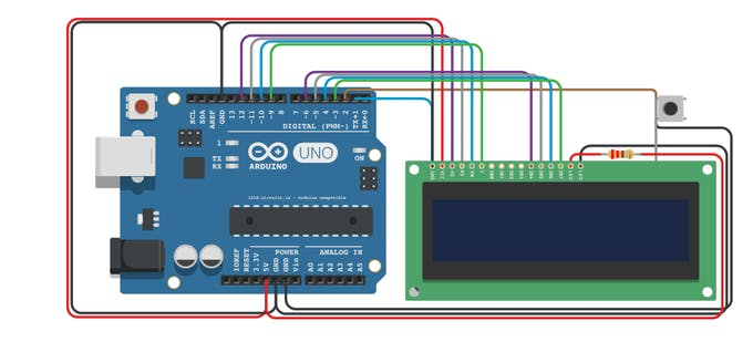 Arduino game by lcd project hub