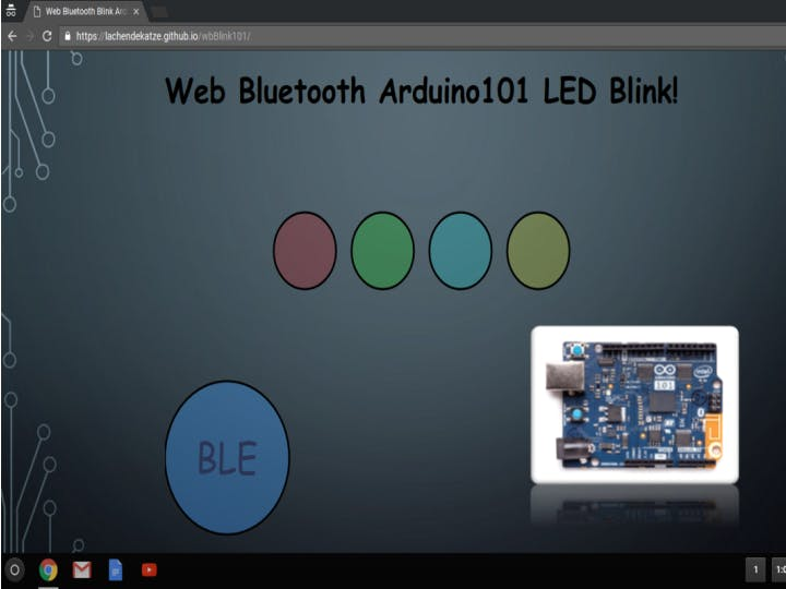Yet Another Blinking LED Example!