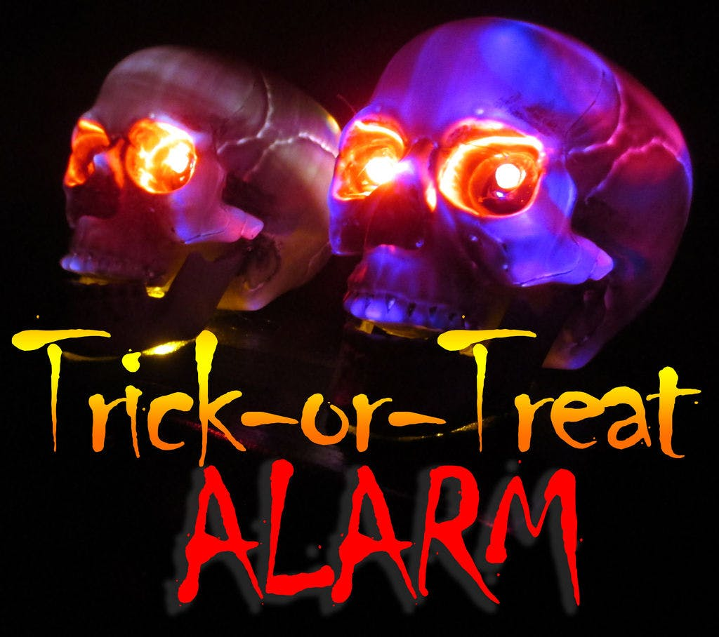 LED Trick-or-Treat Alarm