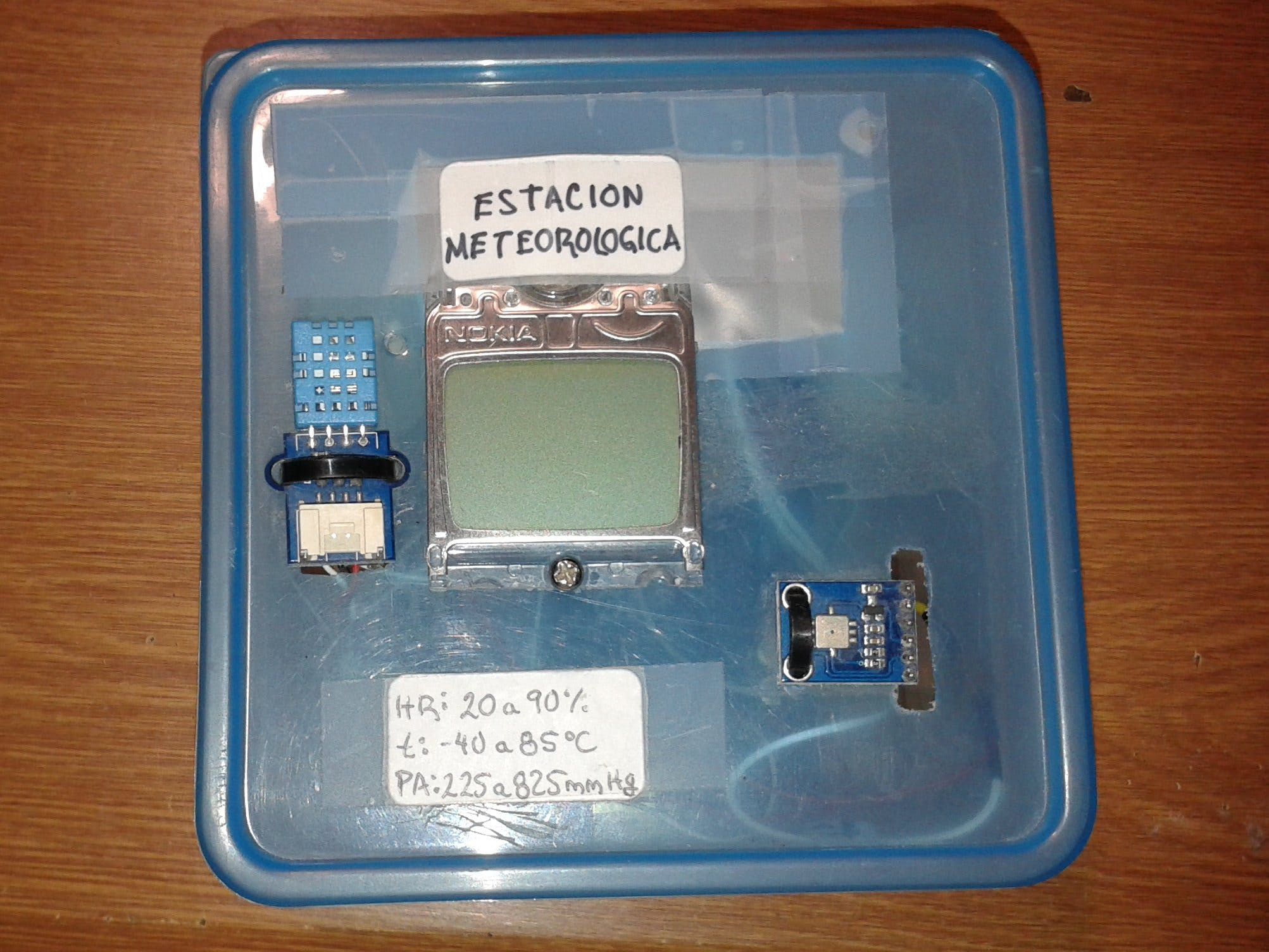 WEATHER STATION WITH ARDUINO UNO