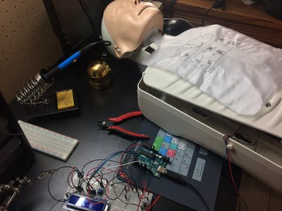Arduino Powered CPR Feedback Device