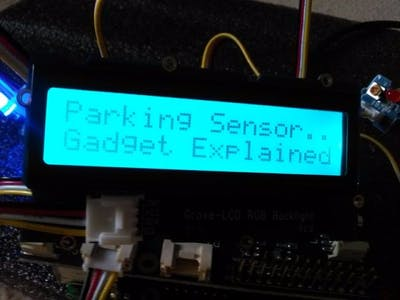 Parking Sensor for Robot Car