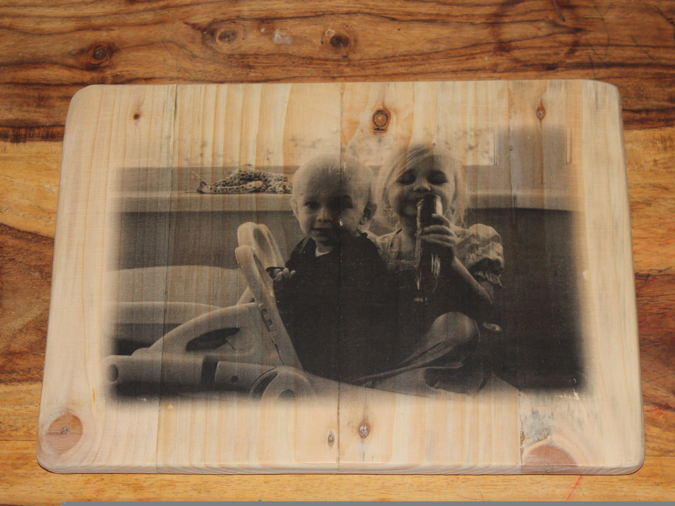 Transfer Photos To Wood