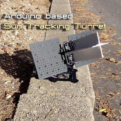 Arduino sun tracker turret hackster