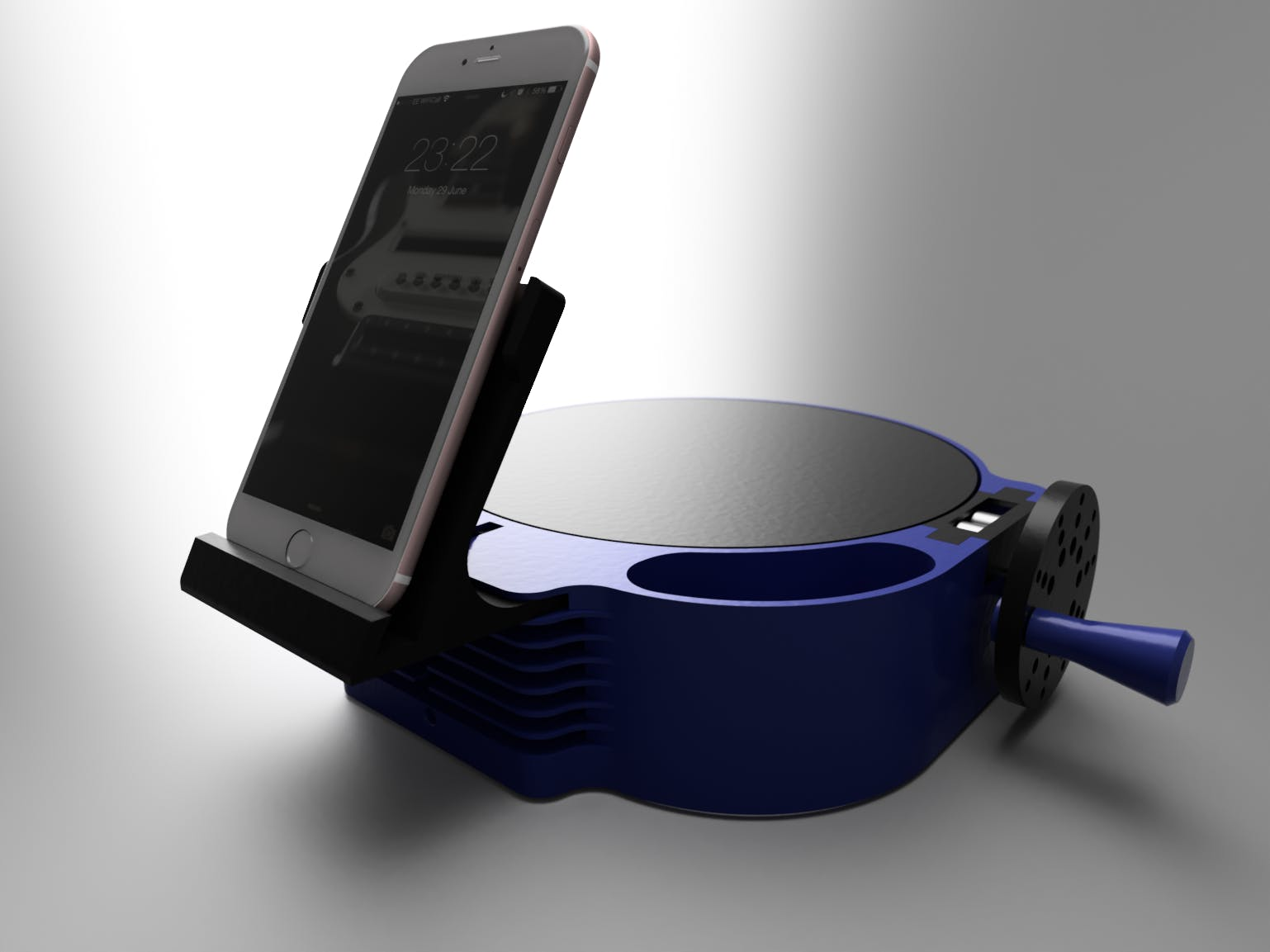 3D Scanner Turntable for Cell Phones (updated)