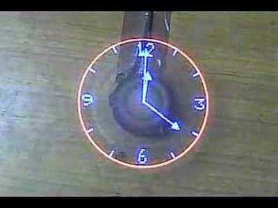 LED propeller clock