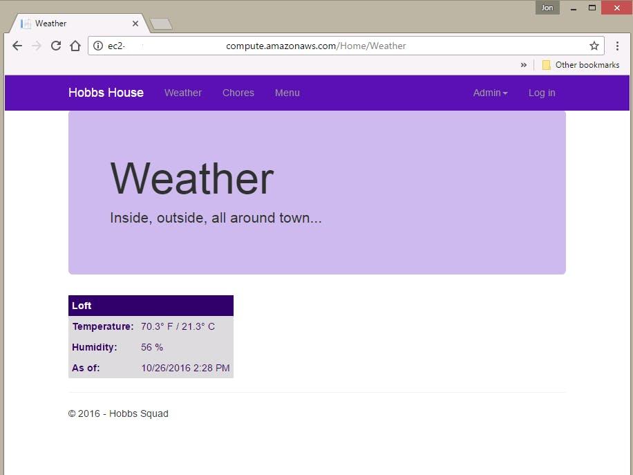 Indoor Weather Node