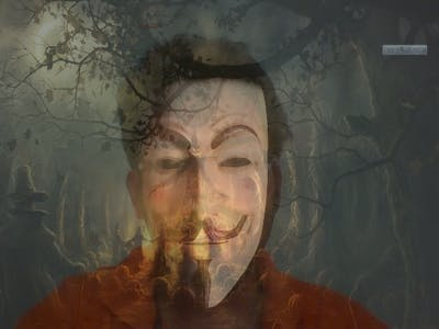 Spooky Halloween mask using image processing