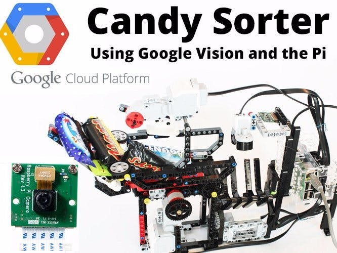 Google Cloud Vision Halloween Candy Sorter