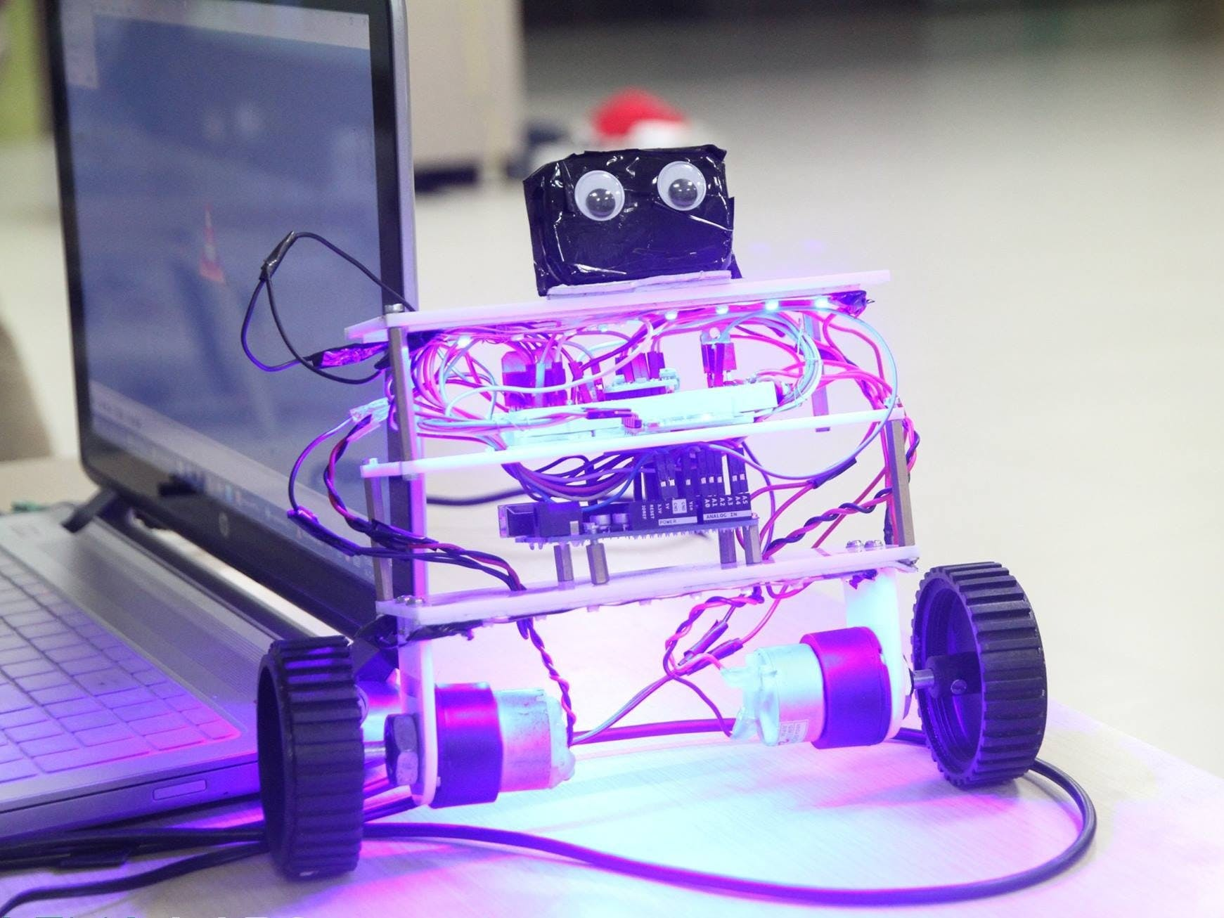 Self Balancing Robot Using Blubug