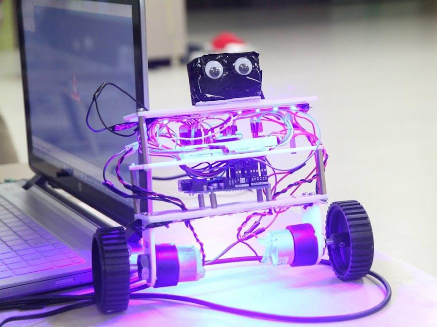 Self Balancing Robot Using Blubug