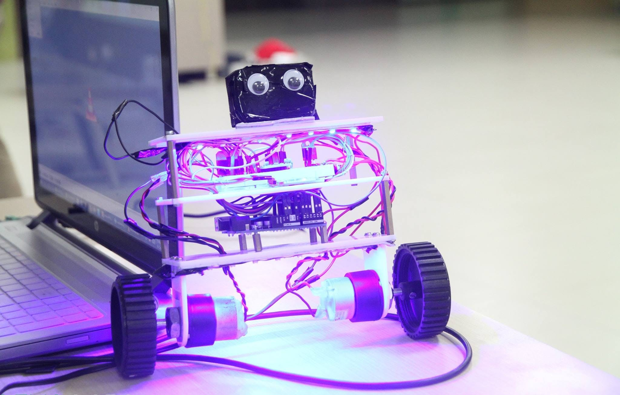 self balancing robot arduino code pdf