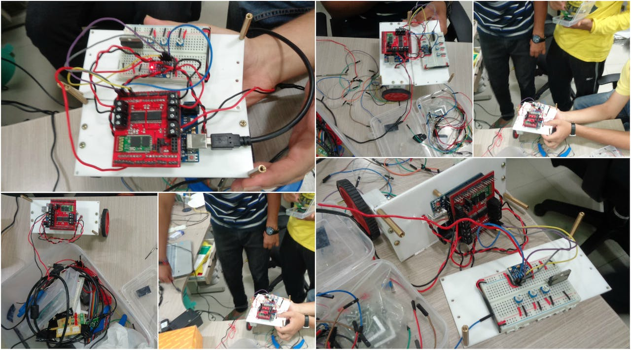 Self Balancing Robot Using Blubug 8051 Circuit Diagram