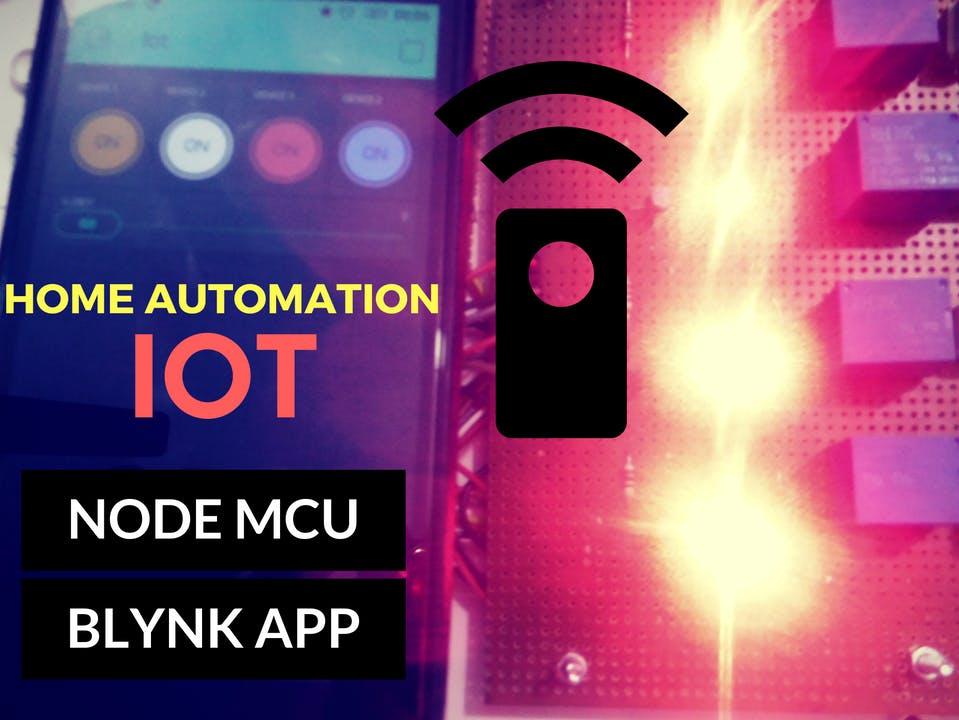 IOT Home Automation (Node MCU + BLYNK)