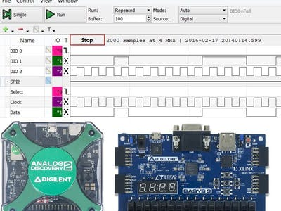 Using the Analog Discovery to Debug Digital Logic