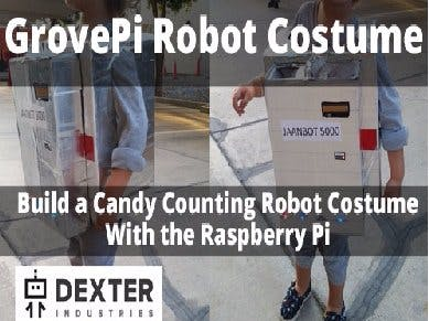 Candy Counting Robot with the Raspberry Pi