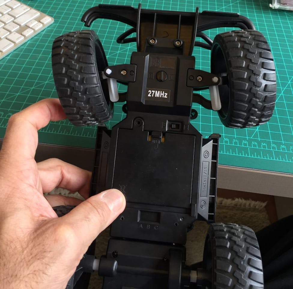 Hacking A Rc Car To Control It Using An Android Device Remote Controlled Dc Motor For Toy Circuit Diagram Circuits