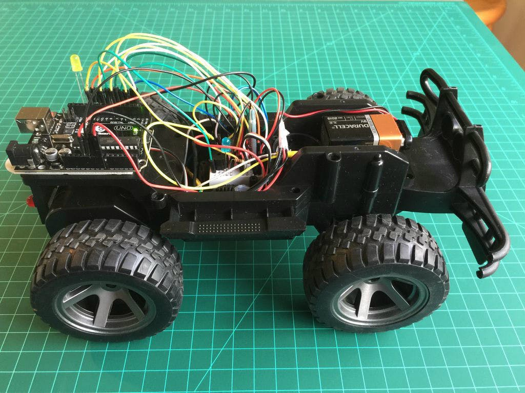 Hacking A Rc Car To Control It Using An Android Device Auto Mobile Wiring Diagram For Remote