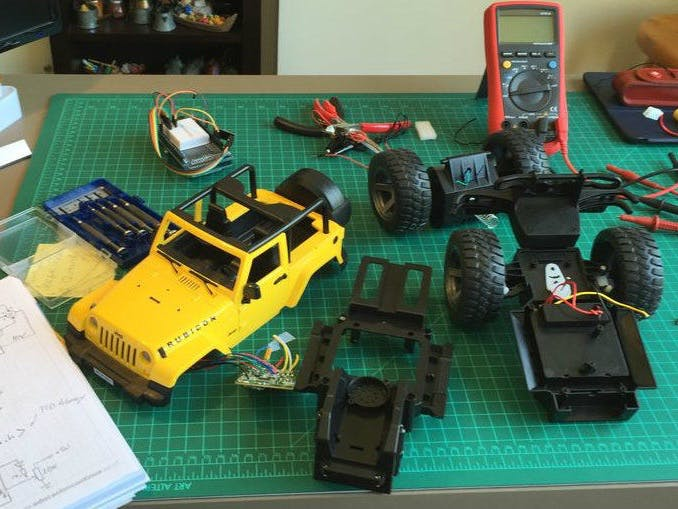 Hacking A Rc Car To Control It Using An Android Device Hackster Io