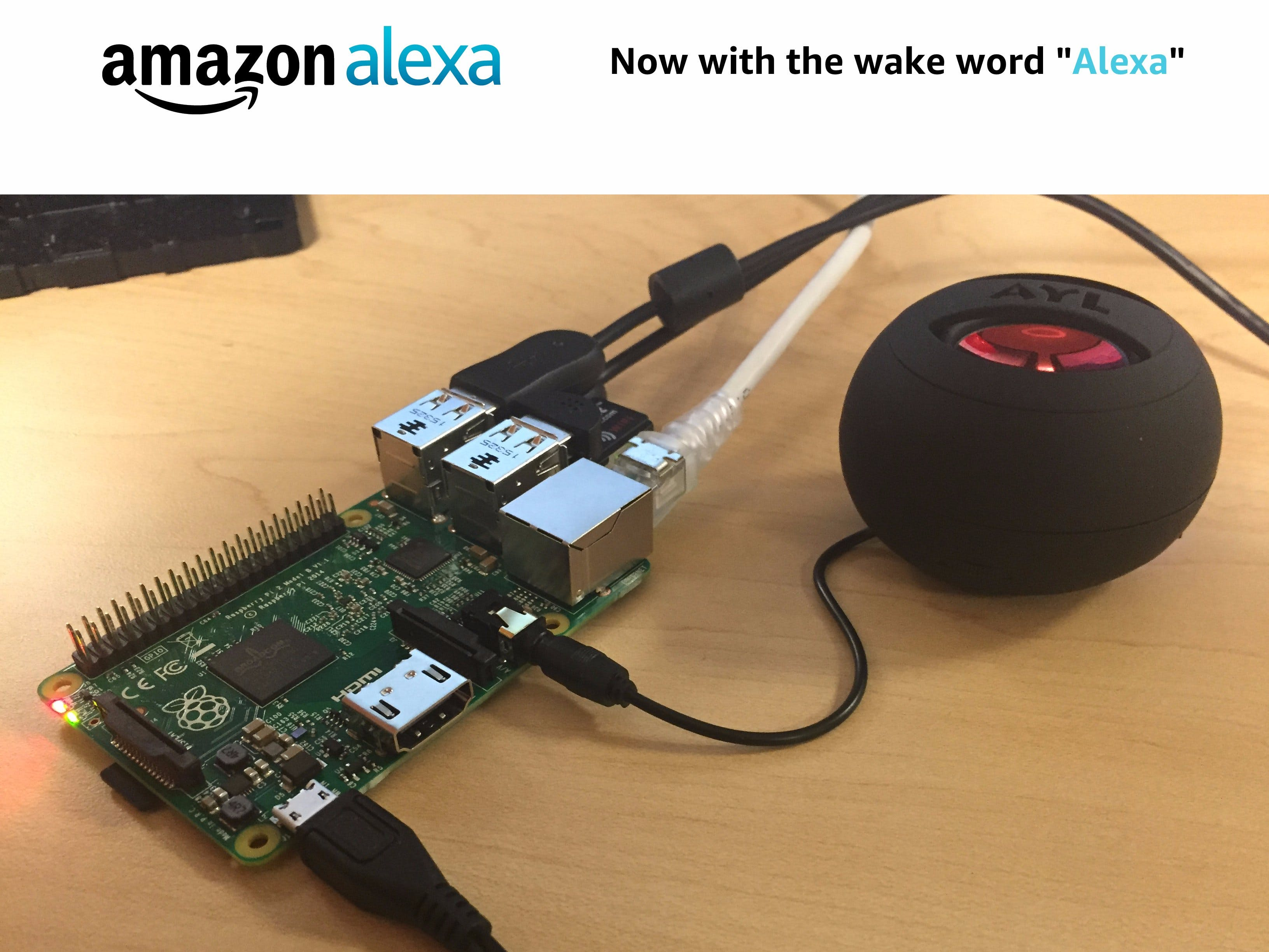 Hands-Free Alexa on Raspberry Pi
