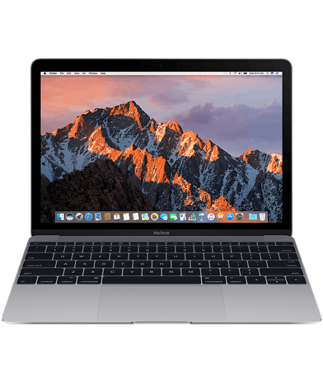 Macbook select spacegray 201604