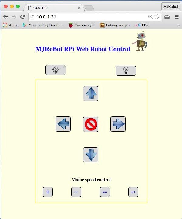 iot controlling a raspberry pi robot over internet hackster io rh hackster io