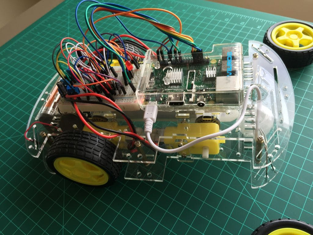 Iot Controlling A Raspberry Pi Robot Over Internet Wiringpi Python Functions