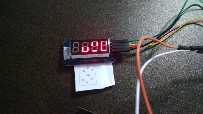 Binary Clock (Hours, Minutes and Seconds)