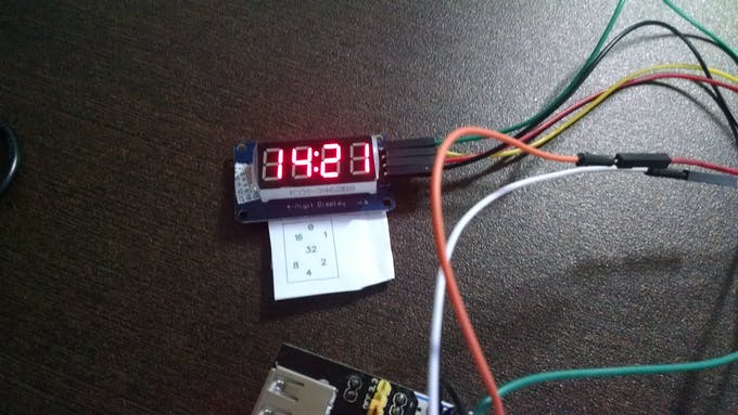 Mode 1: Decimal/Digital clock