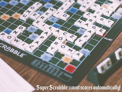 SuperScrabble - Automatic Scores Counter on Scrabble Board
